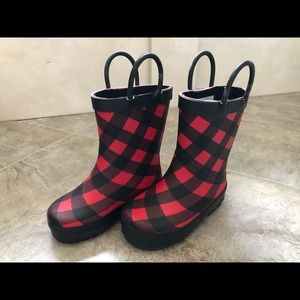 Western Chief rain boots size small kids  5/6